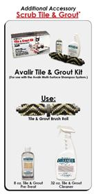 Picture of Avalir Tile & Grout Kit